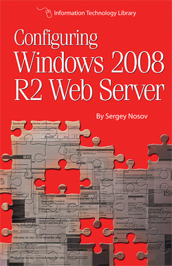 Configuring Windows 2008 RR2 Web Server